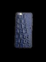 """Кожаный чехол-накладка """"Крокодил"""" на iPhone"""