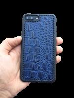 "Кожаный чехол-накладка ""Grand Edition"" на iPhone"