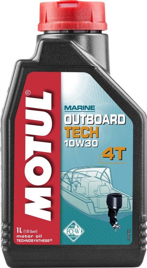 Масло моторное Motul Outboard Tech 4T 10W-30 1литр