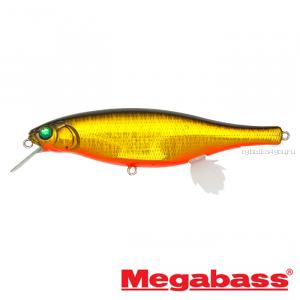 Воблер Megabass Vision 100 Miyabi 105мм / 17,4гр / Заглубление: 0,4 - 0,6 м / цвет: GG Megabass Kinkuro