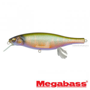 Воблер Megabass Vision 100 Miyabi 105мм / 17,4гр / Заглубление: 0,4 - 0,6 м / цвет: Hakusei Glitter Oikawa M