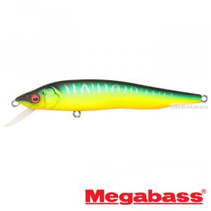 Воблер Megabass Vision 95Q-GO Slow Float 95мм / 9,8гр / Заглубление: 0,1 - 0,5 м / цвет: Mat Tiger