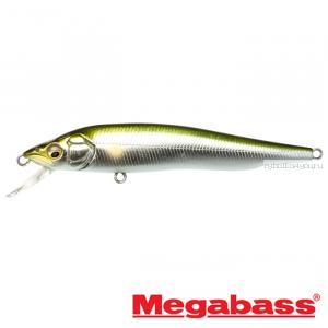 Воблер Megabass Vision 95Q-GO Slow Float 95мм / 9,8гр / Заглубление: 0,1 - 0,5 м / цвет: Wagin Ayu