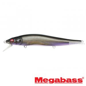 Воблер Megabass Vision Oneten Hi-Float 110мм / 14 гр / Заглубление: 1,2 - 1,8 м / цвет: GG Deadly Black Shad HF