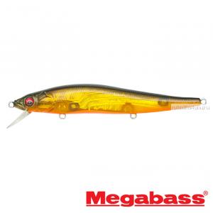 Воблер Megabass Vision Oneten Silent Riser 110 мм / 14 гр / Заглубление: 0,5 - 1 м / цвет: NC Megabass Kinkuro