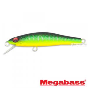 Воблер Megabass X-55 Great Hunting 55 мм / 3,4 гр / Заглубление: 0,6 - 0,8 м / цвет: Mat Tiger