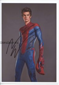 Автограф: Эндрю Гарфилд. Новый Человек-паук