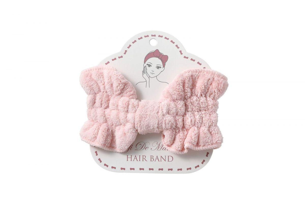 Повязка для волос №5 (розовая)