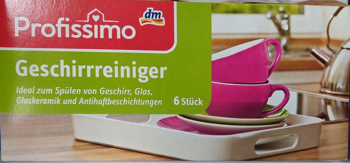 Губки для мытья посуды Profissimo 6шт