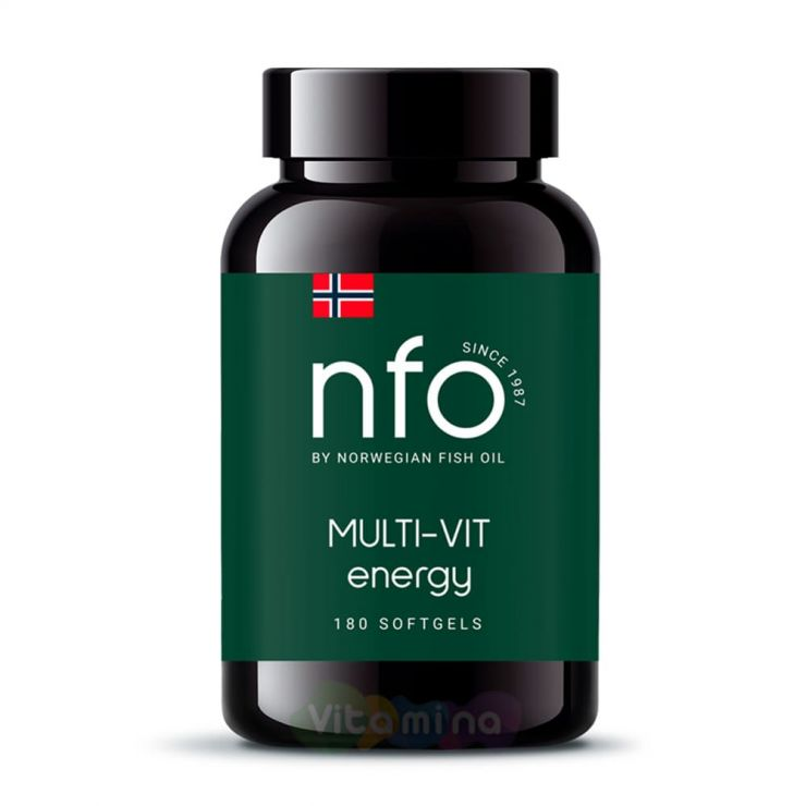 NFO Мульти Вит, 180 капсул