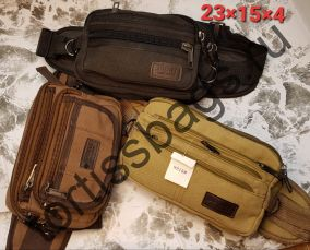 9215 сумка поясная (Брезент)