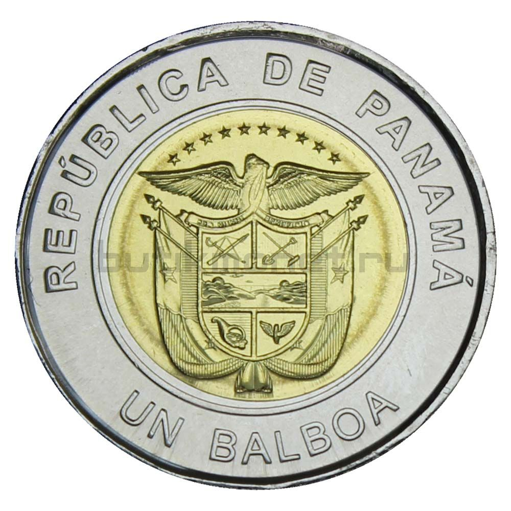 1 бальбоа 2018 Панама 100 лет Красному кресту