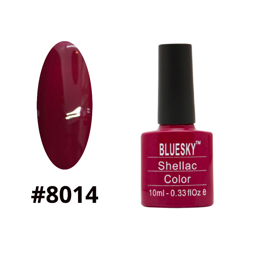 Гель-лак Bluesky Shellac Color 10ml №8014