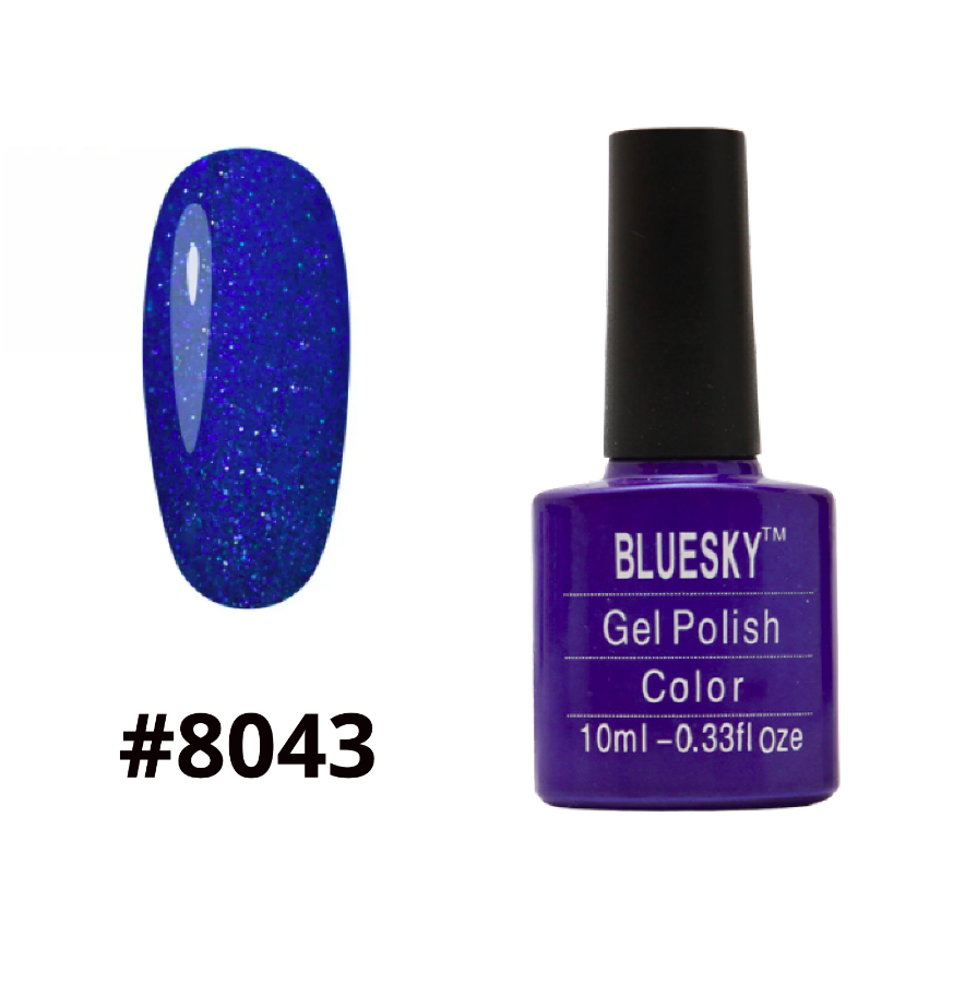 Гель-лак Bluesky Shellac Color 10ml №8043