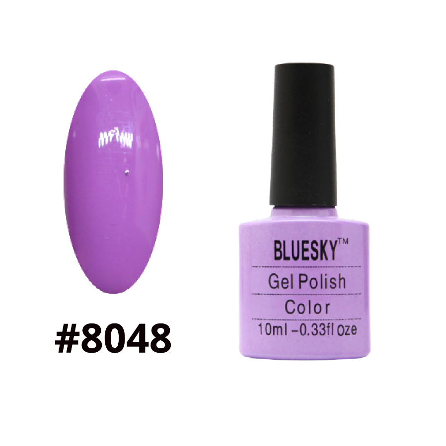 Гель-лак Bluesky Shellac Color 10ml №8048