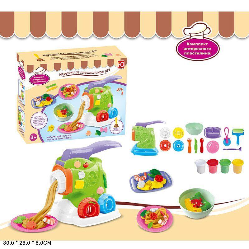 Игровой набор для лепки с пластилином Play-Doh макаронная фабрика (677-C114)