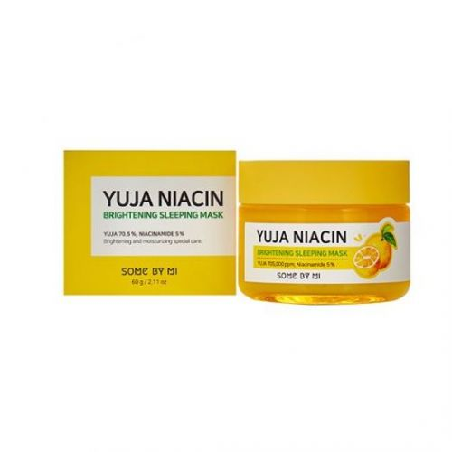 390305 SOME BY MI Ночная маска для лица с экстрактом юдзу YUJA NIACIN BRIGHTENING SLEEPING MASK