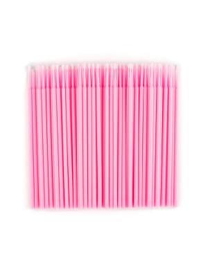 Микробраши , Цвет Розовый, 100 шт/пакет