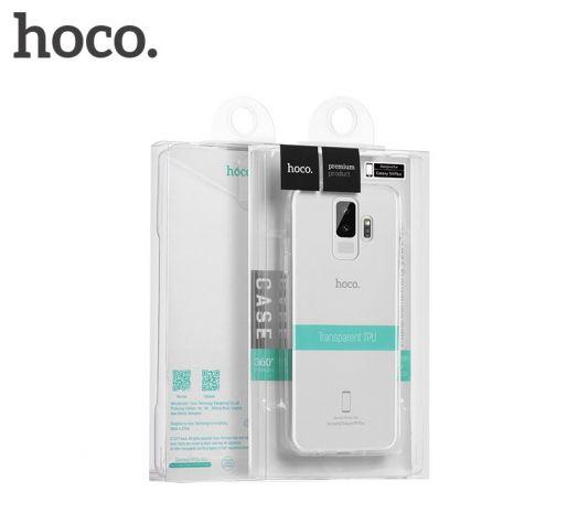 Защитный чехол HOCO Light series для Galaxy S9 Plus, прозрачный полиуретан