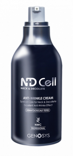 Антивозрастной крем для шеи и зоны декольте Genosys NDCell Anti-Wrinkle Cream