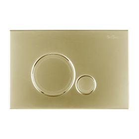 Кнопка смыва BelBagno SFERA, цвет-золото, BB018-SR-ORO