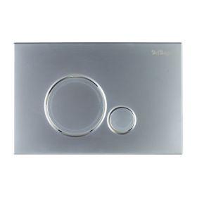 Кнопка смыва BelBagno SFERA, цвет-хром матовый, BB016-SR-CHROME.M