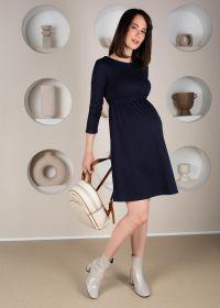 """Платье """"Алиша"""" для беременных и кормящих; синий"""