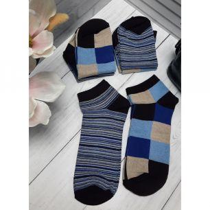 Набор коротких мужских носков С418К