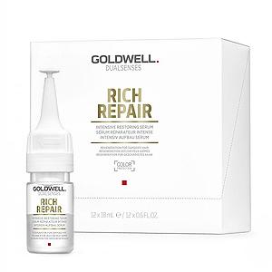 Goldwell Dualsenses Rich Repair Regeneration Serum - Восстанавливающая сыворотка 12x18мл