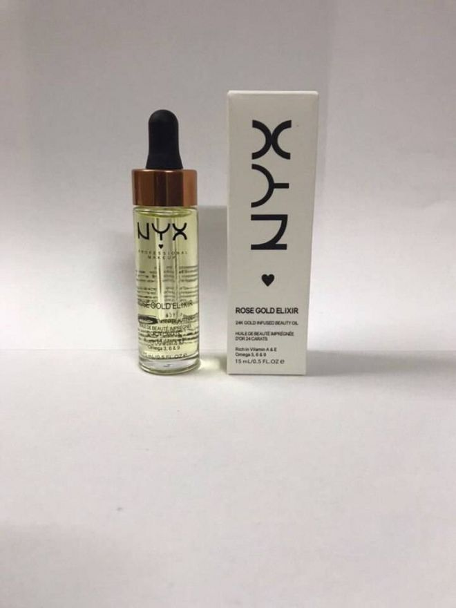 Основа под макияж NYX Масляная текстура с пипеткой 15 ml