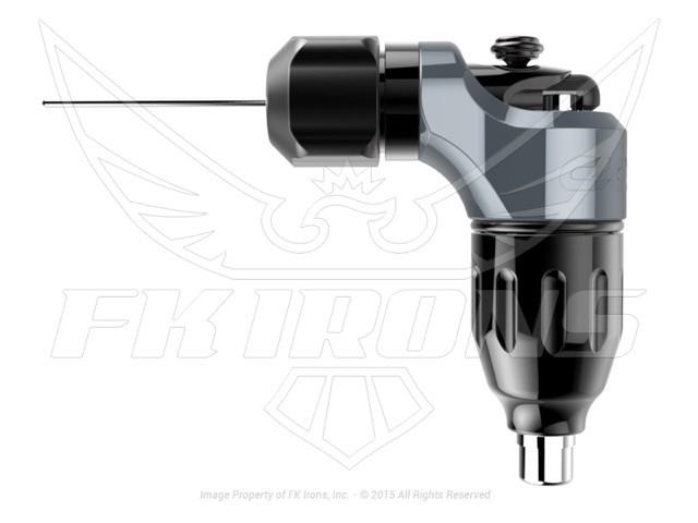 Spektra Edge X Gunmetal Rotary Tattoo Machine by FK Irons