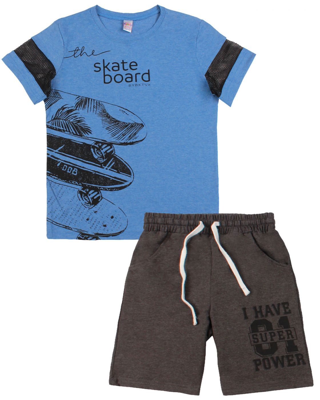 """Комплект для мальчика """"Urban style"""" темно-голубой"""