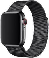 Ремешок миланская петля для часов Apple Watch   42/44mm  Черный
