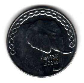 Алжир 5 динаров 2016