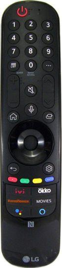 Пульт ДУ Magic Remote LG MR21GC, 2021г., NFC