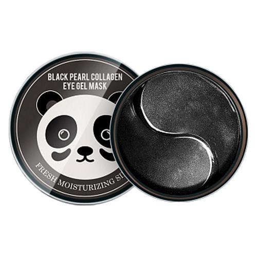 Гидрогелевые патчи  с экстрактом черного жемчуга Black Pearl Collagen Eye Gel Mask