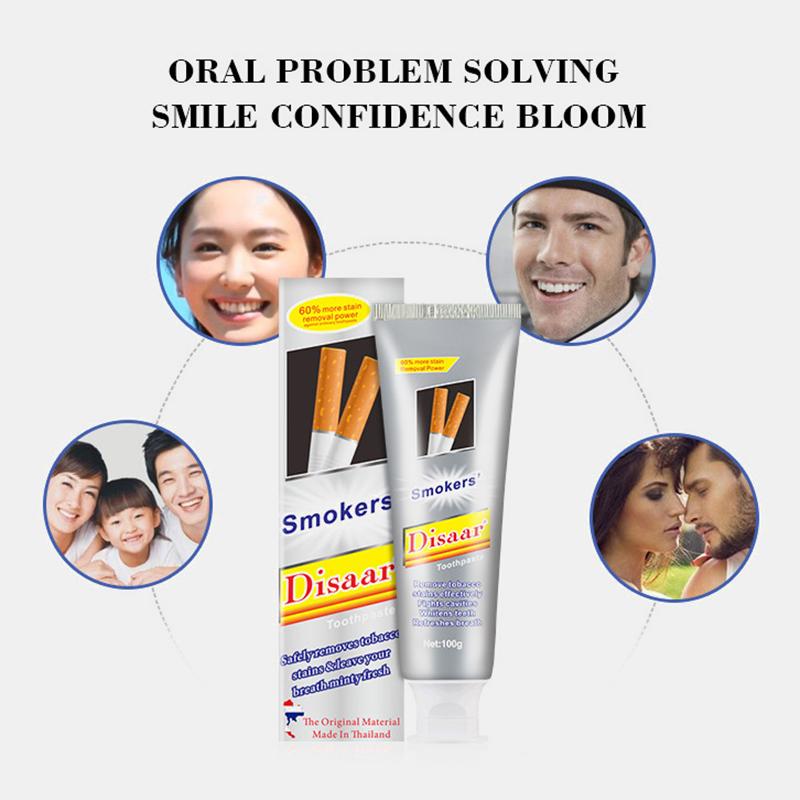 Зубная паста для курящих Disaar Smoker's Toothpaste (7120)