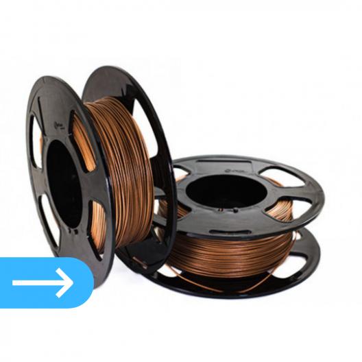 3Д печать пластиком PLA медь