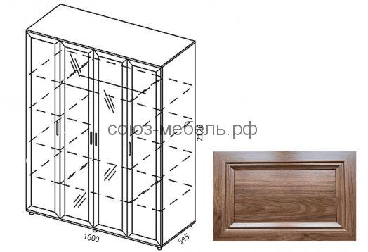 Классика Шкаф-4х ШК-4