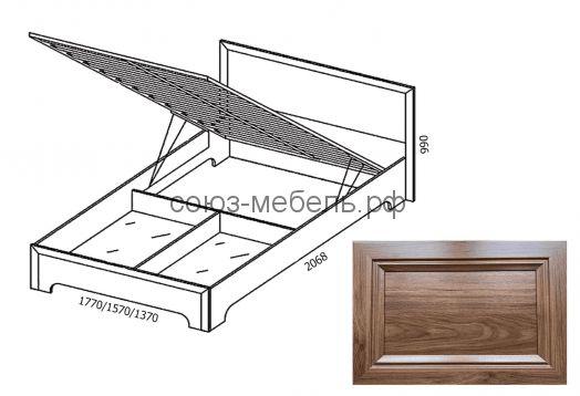 Классика Кровать подъемная