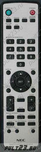 NEC RU-M113, 42XP10, 50XP10, 60XP10, 42XC10, 50XC10, 60XC10