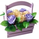 Ароматизированные розы из мыла
