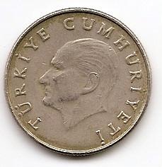 50 лир(Регулярный выпуск) Турция  1985