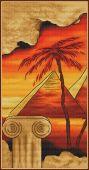 Схема для вышивки крестом Египет.