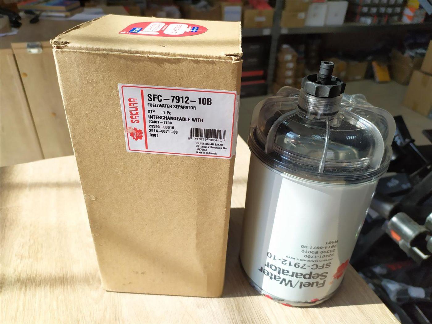 Фильтр топливный (сепаратор в сборе) с отстойником HINO-500 Евро-3 Евро-4