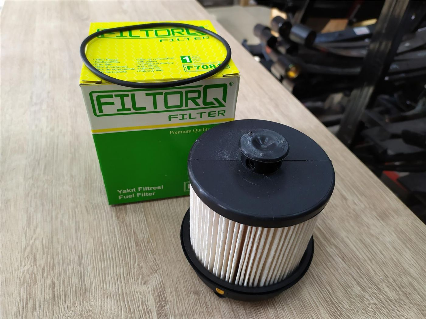 Фильтр топливный Isuzu NLR85 NMR85 NPR75 NQR75 NQR90 двигатель 4JJ1 4HK1 6HK1