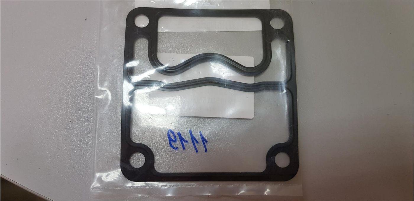 Прокладка цилиндра пневмокомпрессора верхняя (тип А) 4HK1 Isuzu NQR90 FSR90