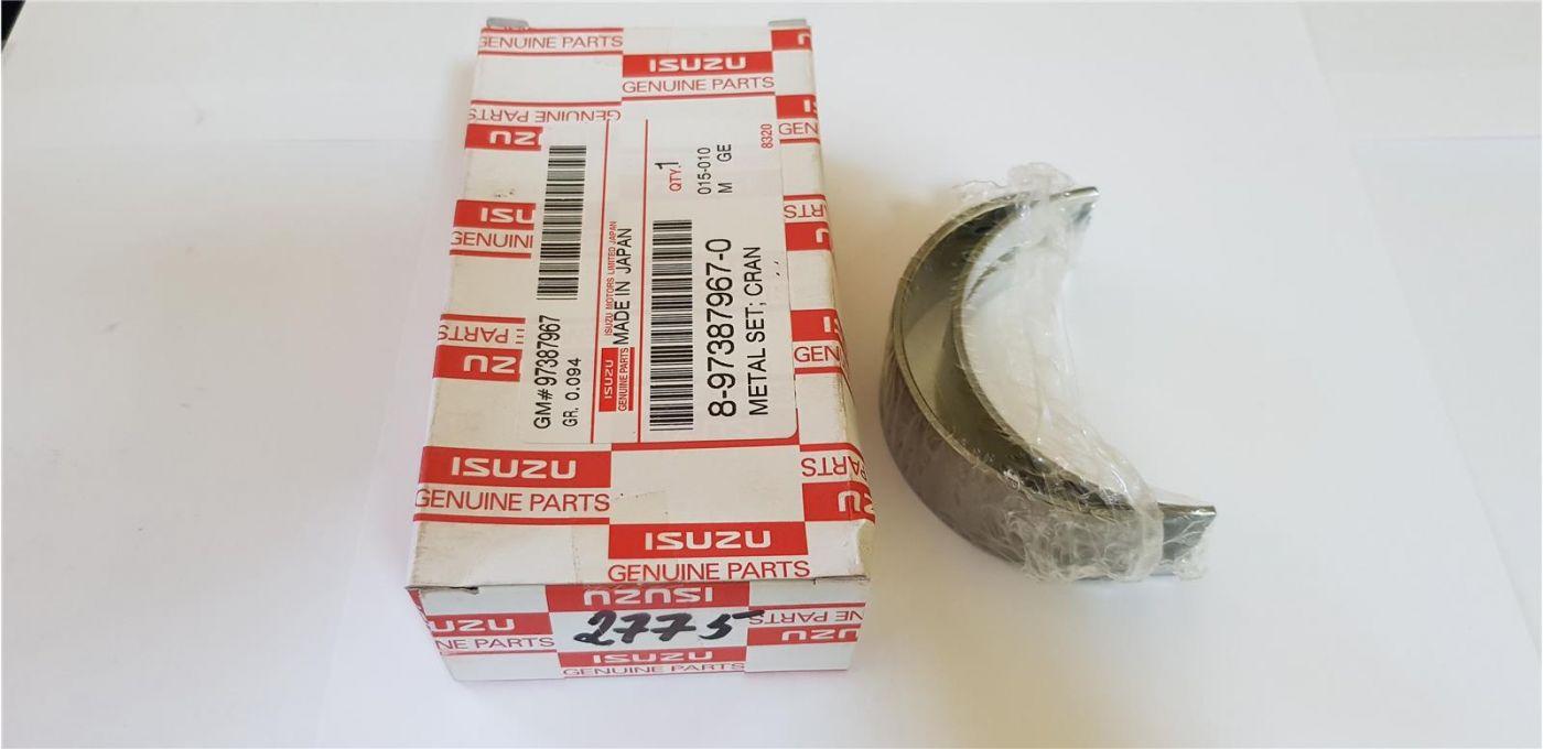 Вкладыши коренные (GRADE 4) стандартные 2шт. (комплект на шейку) 4JJ1 Isuzu/HITACHI