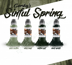 World Famous Ink GORSKY SINFUL SPRING 1oz