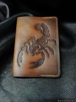 """Обложка для паспорта """"Scorpius"""""""
